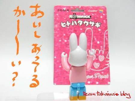R@BBRICK ヒトハタウサギ (3).JPG