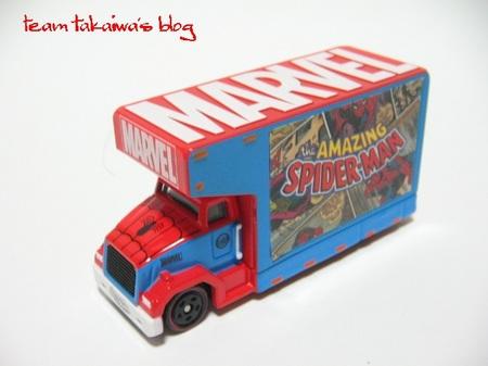 アドトラック スパイダーマン コミックスエディション (3).JPG