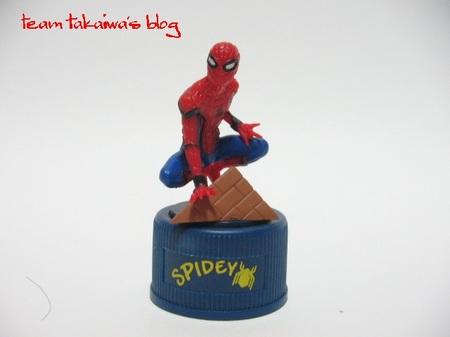 スパイダーマン ボトルキャップマスコット (2).JPG