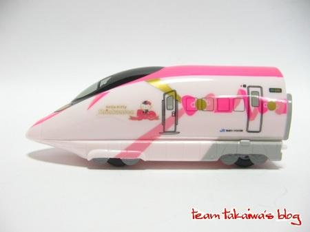 ハローキティ新幹線 リアルタイプチョロQ (4).JPG