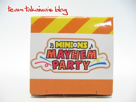 ミニオン ミニカー(ボブ)MAYHEM PARTY (1).JPG